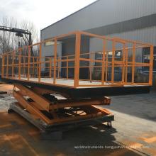 Small Platform Profile Scissor Lift / car lift (CE) / cargo scissor lift