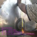 Registro circular Sierra de aserradero con carro