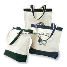 Tragbare Verpackung Leinentasche, tragen Baumwolltasche