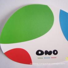 Custom Soft Gel Round Anti-Slip Mouse Pad With Cushion