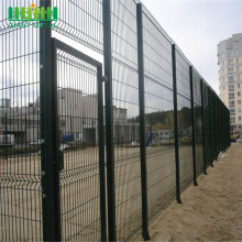 Fashional PVC Coated Welded Curvy Fence