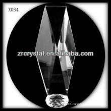 attractive design blank crystal award X084