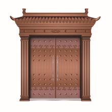 Kupfer-Design Tür gemacht in China Bild Kupfer Rahmentür