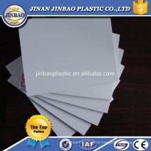 tablero de espuma de papel 4x8ft blanco a prueba de agua