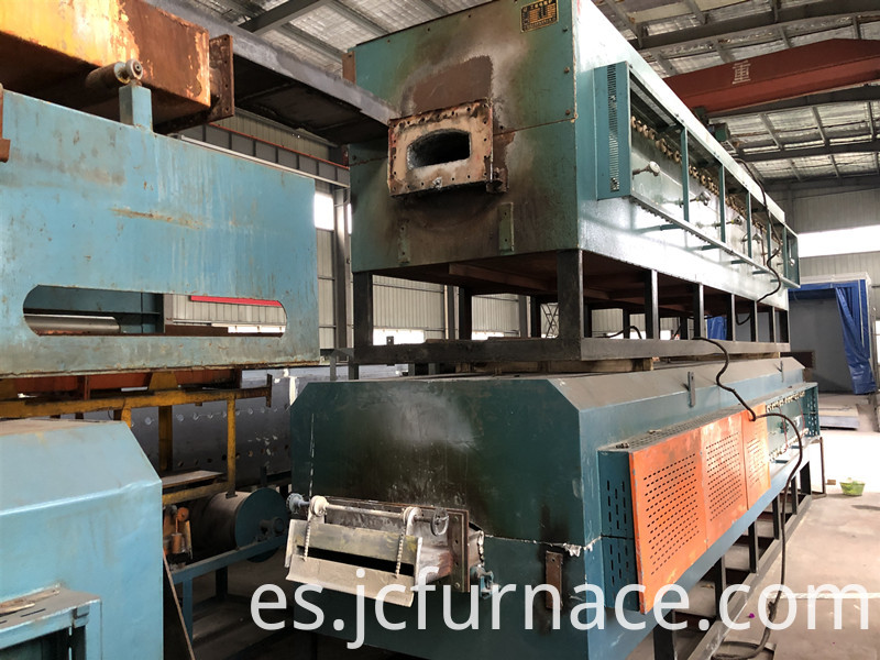 Net belt annealing furnace Recycling transformation