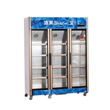 826L Вертикальное выключение устройства Открытие нескольких дверей Дисплей Холодильник