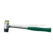martelo de plástico de rosto suave com punho de tubo de aço