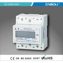 Medidor eléctrico DC de corriente continua digital con pantalla LCD