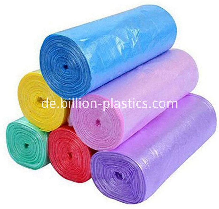 Recycled Plastic Trash Bags