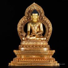 fundição de bronze de metal artesanato nepal handmade estátua de buda