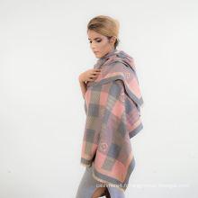2017 fabricant belle qualité 100% coton viscose hijab écharpe