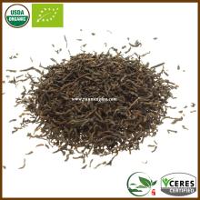 Органический сертифицированный сорт первого сорта сырого чайного листа Pu Erh Tea