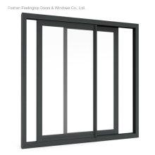 Aluminium Frame Glass Window Design for Commercial Building (FT-W132)
