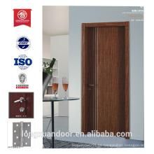 Puerta de madera puerta de diseño hotel fuego nominal puertas de insonorización puerta inteior