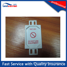 ABS Minitype Warning Tag Made in China