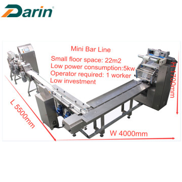 Mini Granola Bar / Nut Bar / Muesli Bar Forming Line