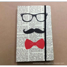 KIds child book notebook leather fancy office supplies