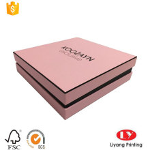 Мода косметическая Коробка дизайн печать с крышкой