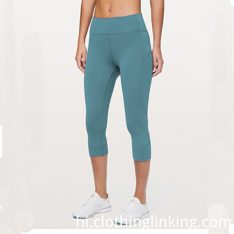 women yoga capri pants