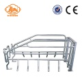 Hot Dip Galvanized Pig Farrowing Pens peti