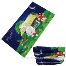 Pescoço tubo cachecol sem costura lenço tubo poliéster elástico bandana lenço de tubo multifuncional