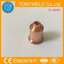 Pontas de soldagem de peças sobressalentes para plasma 220797