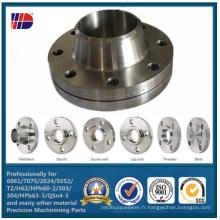 AISI304 (L) Top qualité assurer la bride de tuyau de cuivre d'acier inoxydable