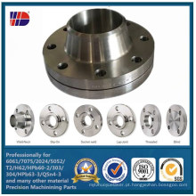 A qualidade superior de AISI304 (L) assegura a flange de aço inoxidável da tubulação de cobre