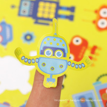 Vinyl Decorative Sticker Color Available Robot custom kiss cut sticker sheet