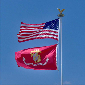 US Polyester Tüllen Marines Flagge
