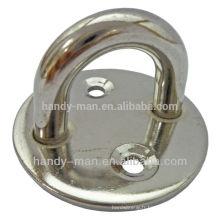 Plaques d'oeil à base ronde en acier inoxydable de protection industrielle