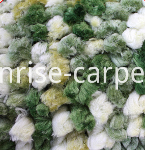 Space Dyed Thick Yarn Carpet Rug