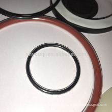 Oilproof Silicone/PTFE/FPM/EPDM coating O-rings sealing