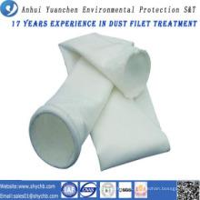 Bolsa de filtro de polvo de fibra de vidrio para la planta de energía de carbón con muestra gratis