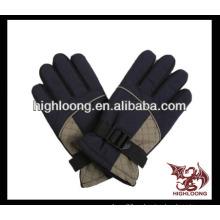Nuevo estilo negro guante caliente y barato de la bici