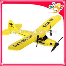 HuaLe HL803 2.4G Upgraded PIPER J3 CUB NC26170 RC Airplane model airplane
