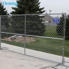 Used+Hot+Dipped+Galvanized+Temporary+Fence+at+Lowes