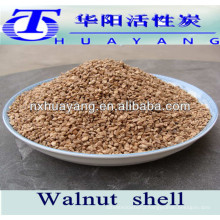 24# walnut shell grit for water filtration oil absorbtion