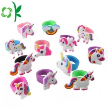 Mascot Silicone Ring Kids Kirin 3D Cartoon Ringen