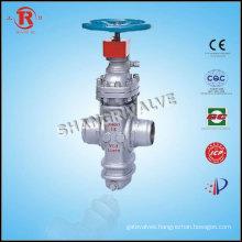 Underground Plate welded gate valve