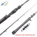 BAR100 Nueva caña de pescar winn SRF nano fibra de carbono caña de pescar en blanco