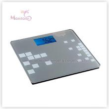 180kg ABS Glas Elektronische Waage (31 * 30 * 2 cm)