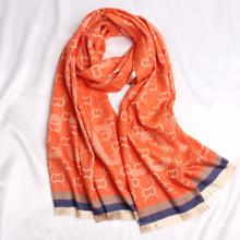 Wholesale Winter New Design Pashmina Jacquard Shawl Fashion Women Long Scarf
