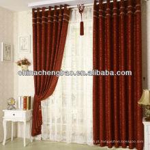Design de cortina para quarto