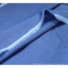 Chambray Poly/Baumwolle Shirting Stoff