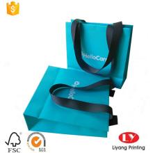 pequeña bolsa de regalo de papel de embalaje de joyas