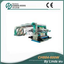 4 Color PP Woven Bag Flexo Printing Machine (CH884-600W)