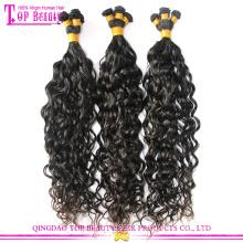 Hergestellt in China Unverarbeitetes 100% chinesisches Jungfrau-Haar