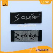 Etiquetas tejidas de ropa LW20007