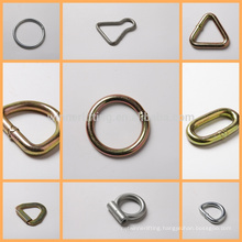 factory direct single slot D ring